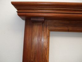 Hennie Ackermann - built-up crown moulding.Made using only three router bits and four planks of which one was 5mm thick with the edge just rounded by hand. (added 28 July 2018)